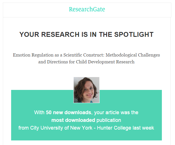 Research Gate - Emotion Regulation